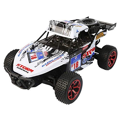 1/16 Lade High-Speed-Drift RC Auto, Off-Road-2.4G 4-Kanal RC-Rennwagen, 20 km / h Simulation All-Terrain RC Buggy,...