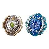 BEYBLADE Burst Turbo Slingshock Dual Pack Engaard E4 and Stone-X Quetziko Q4 -- 2 Right-Spin Battling Tops, Age 8+