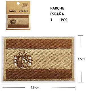 BANDERA DEL PARCHE BORDADO PARA PLANCHAR O COSER (ESPAÑA-M1): Amazon.es: Hogar