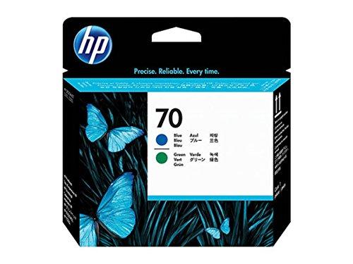 HP original HP Hewlett Packard DesignJet Z 3100 70 C 9408 A Druckkopf green blue 130ml