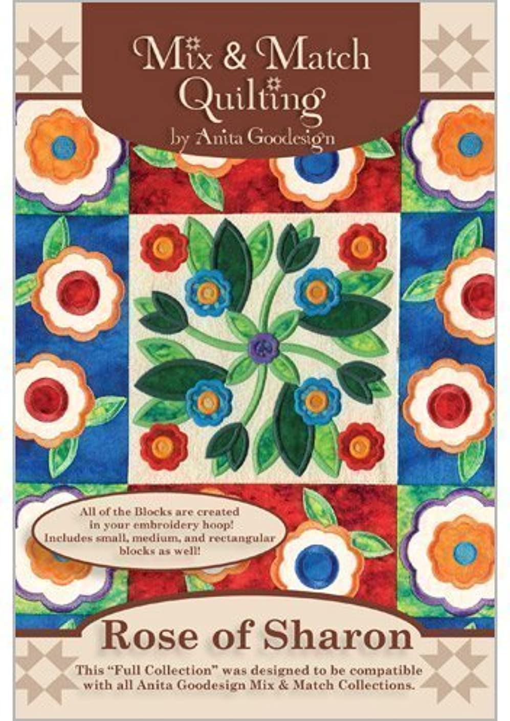 Anita Goodesign Embroidery Designs CD ROSES OF SHARON
