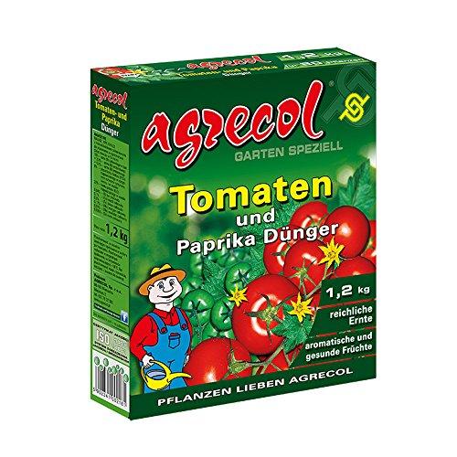 Abono granulado prémium para tomates, pimientos y plantas de chile – altamente concentrado y de alto rendimiento – suficiente para 60 plantas