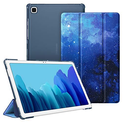 FINTIE Custodia per Samsung Galaxy Tab A7 10.4 '' 2021 SM-T500 / 505/507, Sottile Leggero Semi-Trasparente Back Cover Protettiva Case, (Z-Starry Sky)