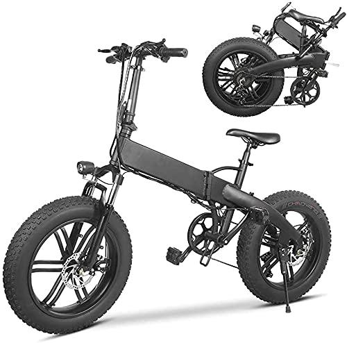 La bici elettrica pieghevole 36V 500W, 36V 500W Super Power è adatta per neve, montagna, sabbia