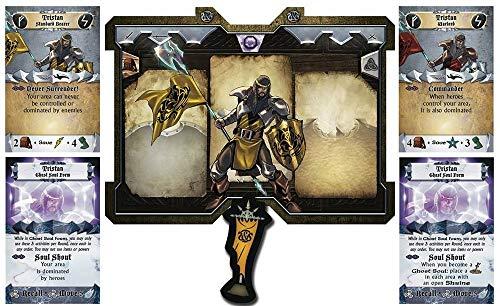 Sword & Sorcery : Tristan Standard Bearer/Warlord Espansione Gioco da Tavolo in Italiano