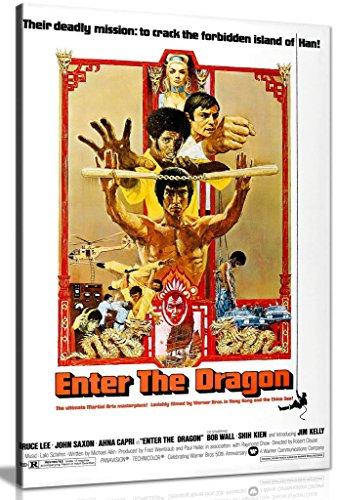 Póster de Bruce Lee Pictures Enter The Dragon (91,4 x 60,9 cm)