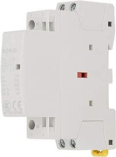 25A Din Rail AC Contactor 2 Pole, 24V Coil Din Rail AC Contactor 1NO 1NC 50/60HZ