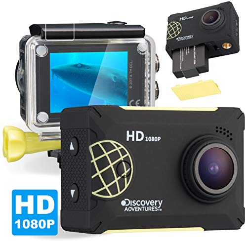 Discovery Adventures Full HD 1080P macchina fotografica di azione Scout con schermo LCD, 5,08cm (2pollici) Nero
