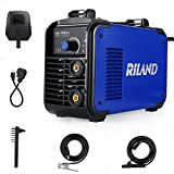 Riland Stick Welder 150A Welding Machine Digital IGBT Welders Inverter MMA ARC Welder,110/220V Dual Voltage DC Portable VRD Hot Start Force Adapter Cable