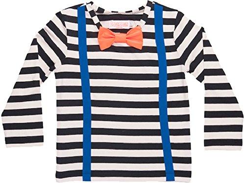 Bang Bang Copenhagen Boys Striped T-Shirt Size 6