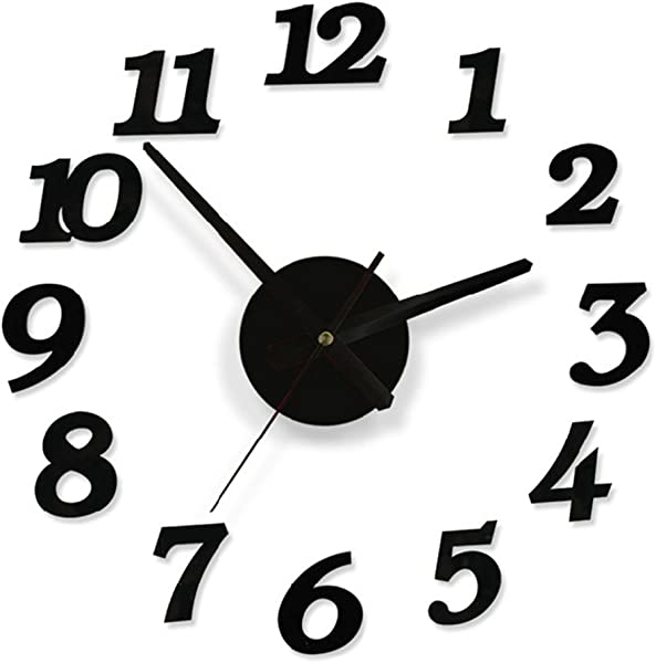 VORCOOL Simple Hanging Clock Decorative Wall Clock With Silent Movement For Home Living Room