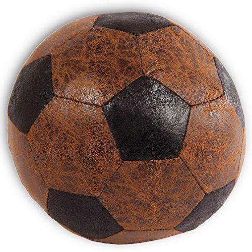 Türstopper oder Fensterstopper in Fußball-Optik Dekoration weiches Material braun. Von Haus der Herzen®
