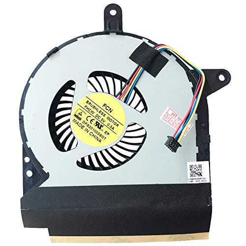 (GPU Version) Lüfter Kühler Fan Cooler kompatibel für ASUS ROG G752VT-GC104T, G752VS-GC123T, G752VT-RH71, G752VS-GC297T, G752VY-1A, G752VM-1A, G752VM-GC056T, G752VY-GC088T