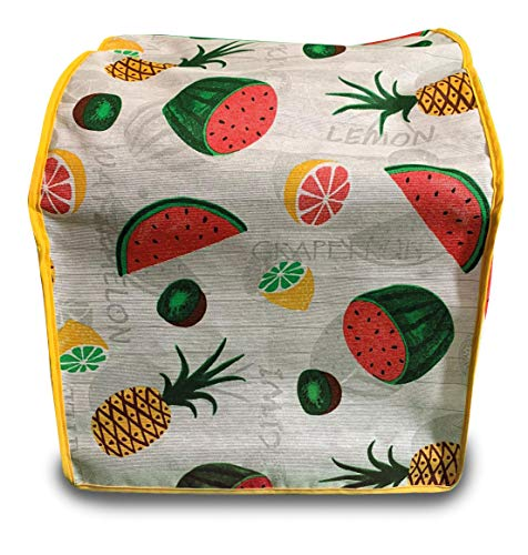 Funda Antimanchas Monsieur Cuisine Connect modelo Frutas. Robot del Lidl