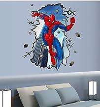 ملصقات جدران ورق لصق ذاتي بشكل الرسوم المتحركة ،متعدد الالوان - 60سم X 90سم