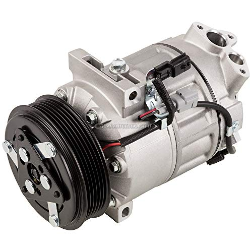 AC Compressor & A/C Clutch For Nissan Sentra 2013 2014 2015 2016 2017 and Nissan Rogue Sport 2017 - BuyAutoParts 60-03816NA New