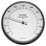 Fischer Sauna Thermometer 5.1', 197-01F (USA-Version, F) - Made in Germany