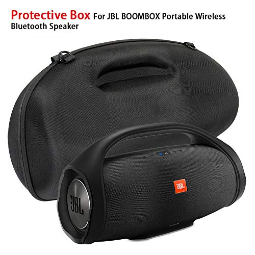 Metermall Protective Box For JBL Boombox Portable Wireless Bluetooth Speaker Storage Pouch Bag Travel Carrying EVA Case