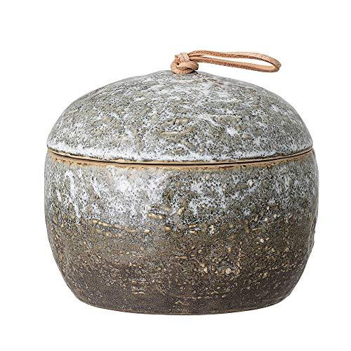 Bloomingville Behälter mit Deckel, grün, Keramik