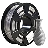 Filamento PLA filament 1,75 mm Sparky Silver, GIANTARM 3D impresora filamento PLA 1 kg Spool