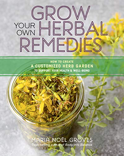Grow Your Own Herbal Remedies: How To Create A Customized Herb Garden To Support Your Health &Amp; Well-Being