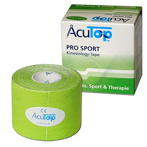 AcuTop PRO SPORT Kinesiology Tape, 5 cm x 5 m, grün