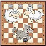 Lobo y ovejas (juego de mesa)