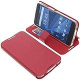 foto-kontor Tasche für BlackBerry DTEK50 Book Style rot