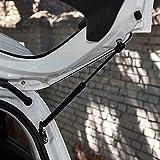 LIUSHU 2 amortiguadores de Gas para Maletero, Resorte de Gas - Amortiguador de Resorte de Gas - Tronco de Resorte de Gas para automóvil, para Fiat Stilo 192 [2001-2006] Hatchback