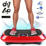 MUPAI Vibration and oscillation platform, 4-D engine with triple vibration plate, Bluetooth +