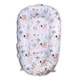 SimpleTot Baby Nest Sleep Pod Replacement Extra Cover ONLY (Fits Dockatot Deluxe+) (Nature Friends)