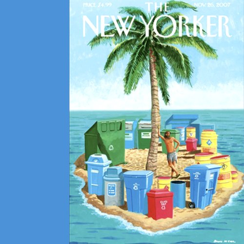 The New Yorker (November 26, 2007) audiobook cover art