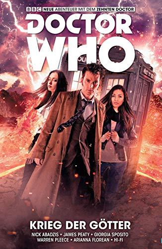 Doctor Who - Der zehnte Doktor, Band 7: Krieg der Götter (Comic)