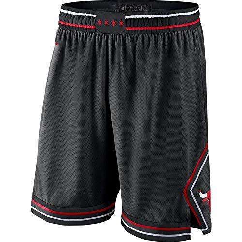 Unknow Nueva Temporada Bulls Basketball Jersey Ball Clothing Gift T-Shirt Basketball Vest Ball Jersey Fans Jersey Chaleco Deportivo (Negro) - XL-228-negro_XXL