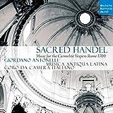 Sacred Handel Music For The Carmelite Vespers Rome 1700...