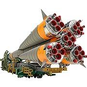 MODEROID 1/150プラスチックモデル ソユーズロケット+搬送列車