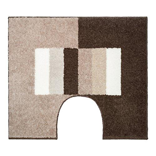 Casilin toiletcontour, acryl, zand, 60 x 50 cm
