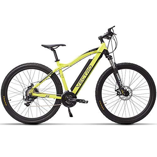 DASLING Elektrisches Mountainbike Unsichtbarer Lithiumbatterie-Boost Erwachsenes Fahren Variable Geschwindigkeit 29-Zoll-Reifen Verwenden Spannung 36 / 48V Höchstgeschwindigkeit: 20 Km/H-36V Gelb