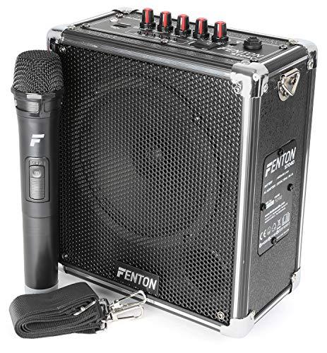 Fenton ST040 Mobiele geluidsinstallatie met Bluetooth, USB, SD, MP3 en Draadloze Microfoon