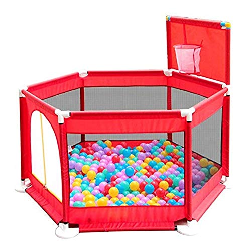 Sale!! Byrhgood Playpen Baby Portable Rollover Baby Playpen with Shooting, Safe Plastic Playground, ...