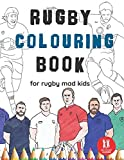 Rugby Colouring Book: Great Gift for Boys & Girls, Ages 4-12