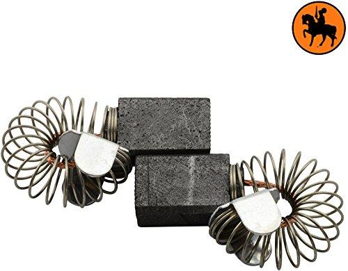 Kohlebürsten für PROTOOL DRP 20 ETQ Bohrmaschine -- 6,3x10x14mm -- 2.4x3.9x5.5'' -- Mit automatische Abschaltung