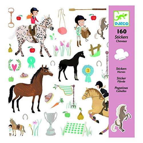Stickers Les chevaux Djeco