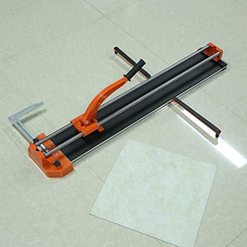 Máquina de corte profesional extraíble de azulejos con mango de goma antideslizante para cortar azulejos manual de 40 pulgadas para cortar piedra de cerámica con infrarrojos
