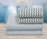 Ravsons Luxury Microfiber Baby and Hand Towel Set, Super Absorbent, Ultra-Soft, Fade Resistant