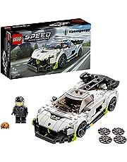 LEGO 76900 Speed Champions Koenigsegg Jesko Auto Speelgoed, Raceauto Set met Minifiguur Bestuurder en Racepak
