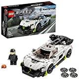LEGO 76900 Speed Champions Koenigsegg Jesko, Coche Deportivo de Juguete para Construir con Mini Figura de Piloto de Carreras