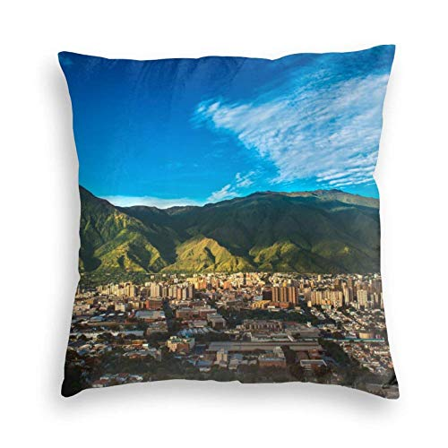 AOOEDM Pillowcase Caracas Venezuela Funda de Almohada Funda de cojín Respaldo Sofá Silla Conjunto