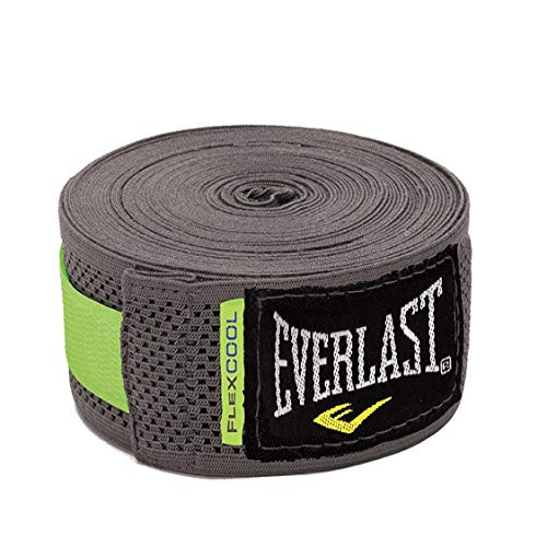 Everlast - 4458G Boxing Hand Wraps-Breathable Grey 180