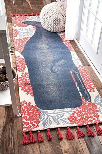 nuLOOM Thomas Paul Flatweave Runner Rug, 2' 8' x 8', Multi